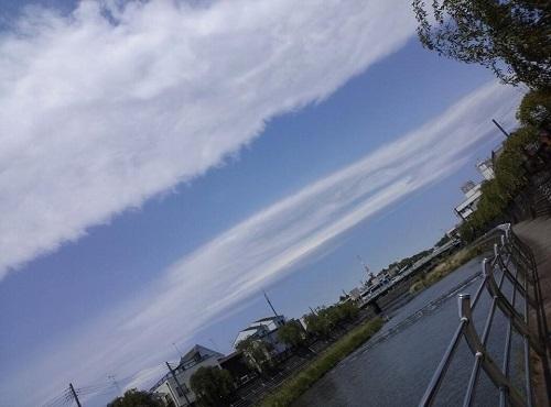 おばけ雲①