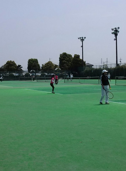 宇都宮テニス協会主催<女子チームダブルステニス大会>⑥