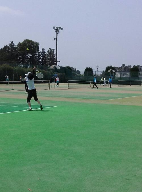 宇都宮テニス協会主催<女子チームダブルステニス大会>⑦