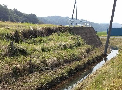"""8月6日(火)の豪雨の影響によると思われる""""土砂崩れ""""<現地調査>⑥"""