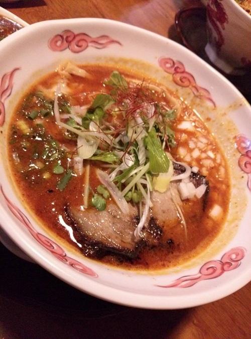 ら~麺<彩羅>へ①