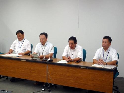 <2013(平成25)年度 栃木県9月補正予算および政策推進に関する要望>申し入れ④