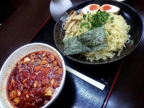 黒嵐で夕食②