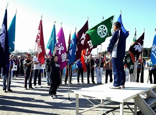 宇都宮市『河内地区 体育祭』開会式