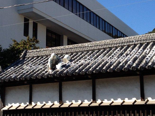 塀と屋根の補修