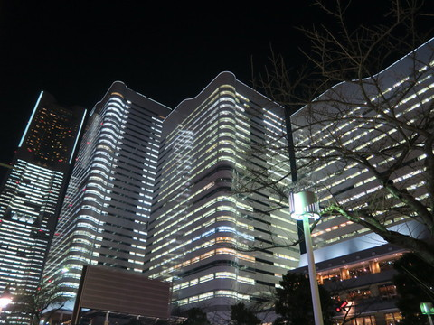 TOWERS Milght(タワーズミライト)2014〜みなとみらい21 オフィス全館ライトアップ